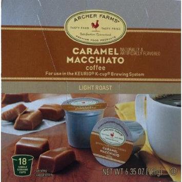 ARCHER FARMS 18 Single Servings - 2 Pack (Caramel Macchiato)
