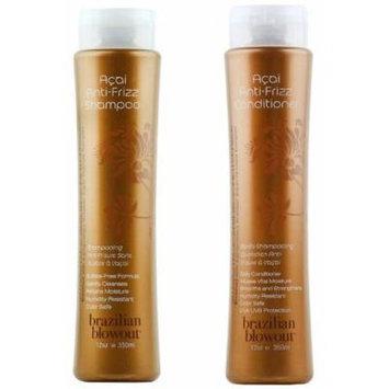 Brazilian Blowout Anti-Frizz Shampoo & Conditioner 24-ounce bottles