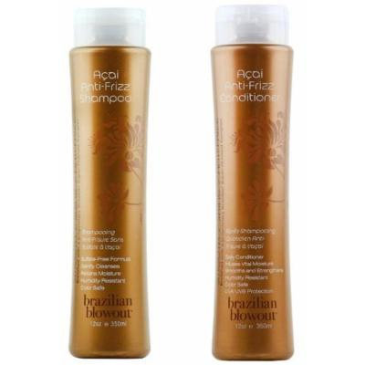 Brazilian Blowout Anti-Frizz Shampoo & Conditioner 24-ounce bottles