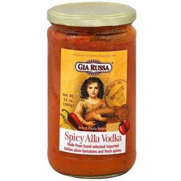 Gia Russa Spicy Alla Vodka Pasta Sauce, 24 oz (Pack of 6)