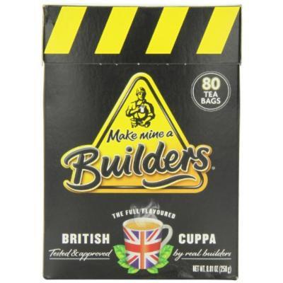 Builders Teabags, 80-Count