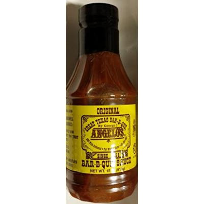 Angelo's Bar-B-Que Sauce 18 Oz (Pack of 2)