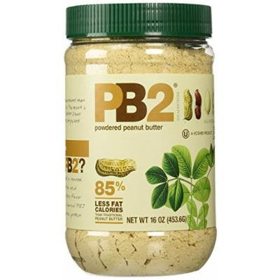 PB2 - Bell Plantation Peanut Butter, 1 lb Jar 16oz (3-pack)