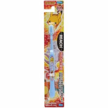 Pokemon Toothbrush for 6-12 Years Old Kids (Blue/Orange/White)