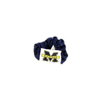 Michigan Wolverines NCAA Jersey Hair Scrunchie