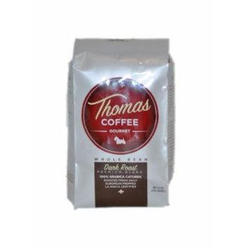 Thomas Coffee Dark Roast Whole Bean