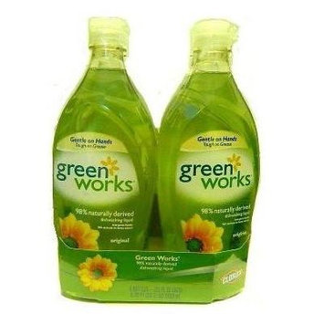 Green Works Greenworks Dishwashing Liquid 4Pk 22oz
