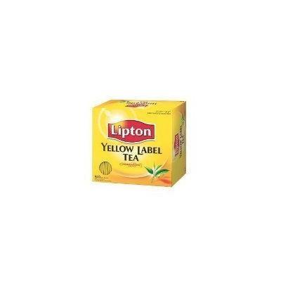 Lipton Yellow Label Tea 100 Tea Bags 200g Thailand Product