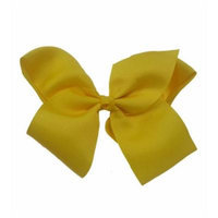 Yellow Extra Large Bow Hair Clip