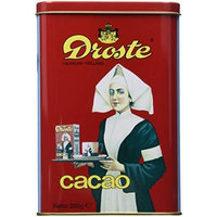 Droste Cacao Powder (8.8 ounces/250grams) in Vintage Style Tin