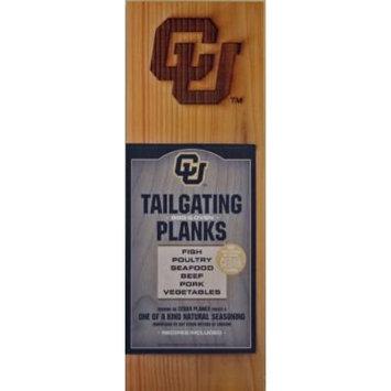 Chef Locke University of Colorado TailGating BBQ Plank