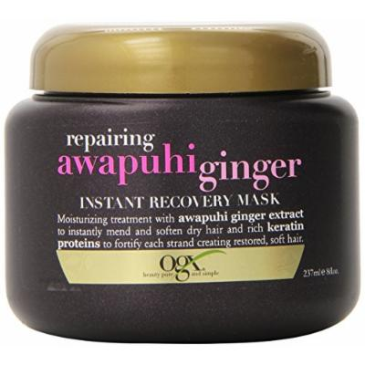 OGX® Instant Recovery Mask, Repairing Awapuhi Ginger