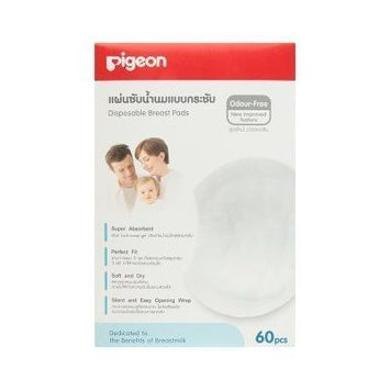 Pigeon Disposable Breast Pads ,60 Pcs