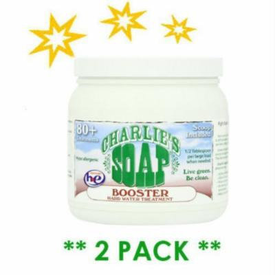 Charlie's Soap Laundry Booster and Hard Water Treatment **Set of Two **