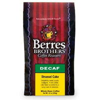 Berres Brothers Coffee Streusel Cake Decaf Whole Bean Coffee 12 oz.
