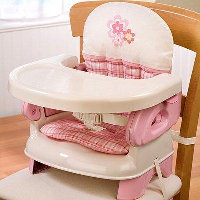 Summer Infant Pink Folding Booster Seat