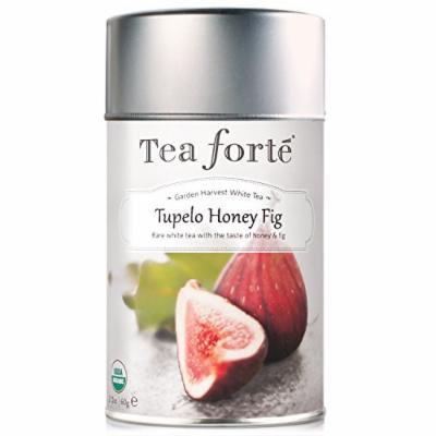 Tea Forte Garden Harvest White TUPELO HONEY FIG Organic Loose Leaf White Tea, 2.12 Ounce Tea Tin
