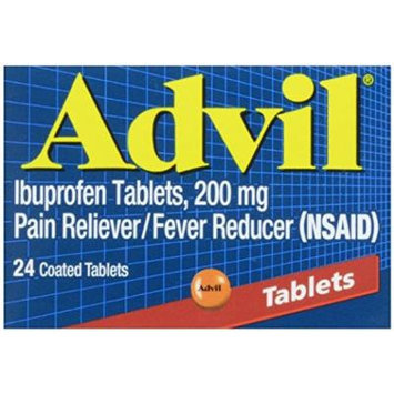 Advil Advanced Medicine for Pain, 200 mg tablets, 24 ct Pack of 5