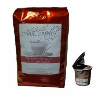 Ekobrew Refillable K-cup Filter with Your Choice of 2lb Gourmet Coffee (Hot Buttered Rum 32oz. Gourmet Coffee)