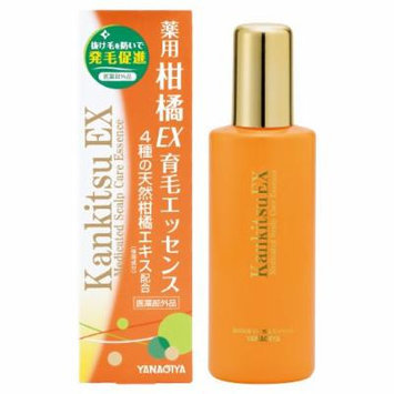 YANAGIYA , Hair Growth Promoting Lotion , Citrus Extract Essence 180ml (Japan Import)