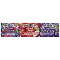 Smuckers® Jelly Jam Assortment (grape, apple jelly, mixed fruit) - 200 case