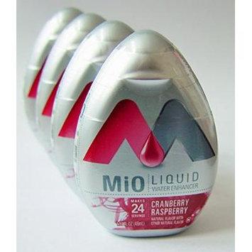 Mio Liquid Water Enhancer Cranberry Raspberry 1.62 Ounce (Pack of 4)