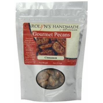 Carolyn's Handmade Gourmet Platinum Snack Bag, Cinnamon Pecans, 4 Ounce