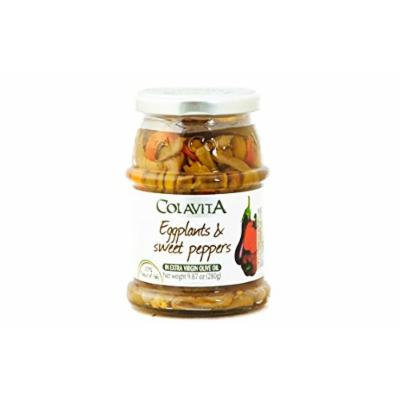 Colavita Eggplants and Sweet Peppers in Extra Virgin Olive Oil - 9.87 oz.