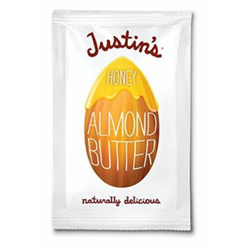 Justin's Almond Butter, Honey Squeeze Packs, 1.15 Ounce (Pack of 10)