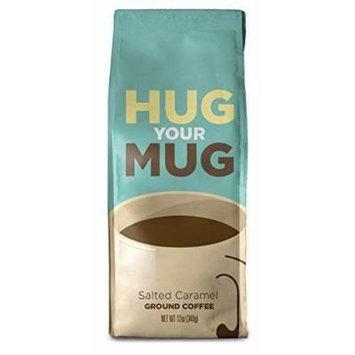 Hug Your Mug 21863 Salted Caramel Flavored Ground Coffee 12 oz.