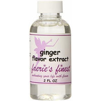 Faeries Finest Flavor Extract, Ginger, 2 Ounce