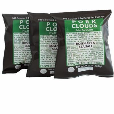 Pork Clouds - Rosemary & Sea Salt (3 Bags)