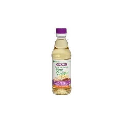 Nakano Seasoned Rice Vinegar W/ Garlic 12 Oz (Pack of 6)