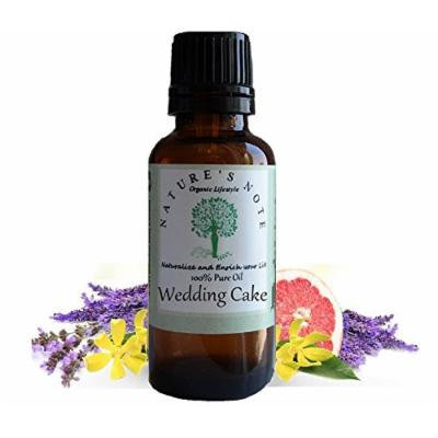 All Natural Nature's Note Organics Fragrance Oils (Wedding Cake, 4 oz.)