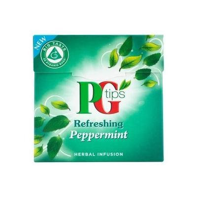 PG Tips Refreshing Peppermint Herbal Infusion Pyramid Bags