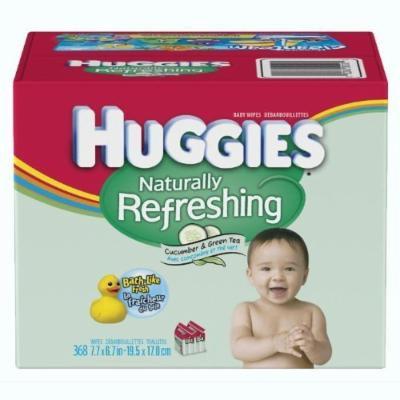 HUGGIES Naturally Refreshing Wipes- 368 ct.