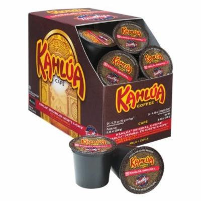 Timothy's World Coffee Kahlua Original K-Cups for Keurig Brewers, 24 ct with 2 Organic Green Tea Bags