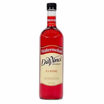 DaVinci Gourmet Classic Watermelon Syrup, 750 ml