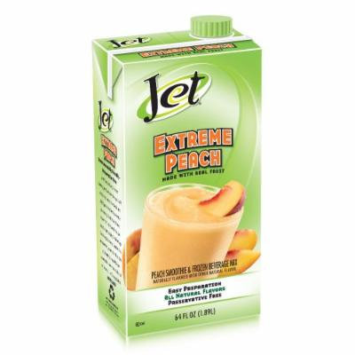 Jet Smoothie Mix, Extreme Peach, 64-Ounce Boxes (Pack of 6)