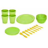 Green Eats 20 Piece Feeding Set, Green