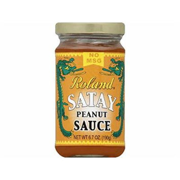 Rol and Sauce, Satay Peanut, 6.70-Ounce (Pack of 6)