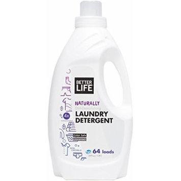 Better Life Laundry Detergent, Unscented, 64 Ounces