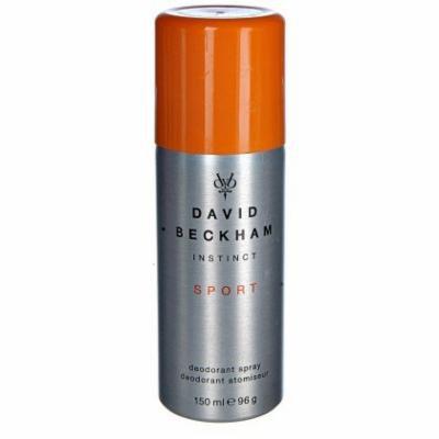David Beckham Instinct Sport Deodorant Spray for Men 5 oz (150ml)