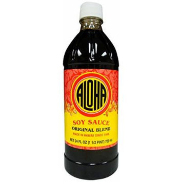 Aloha Shoyu Soy Sauce Original Blend, 24 Ounce (Pack of 12)