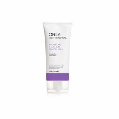 Orly Rich Renewal Hydrating Creme, Passion, 8 Ounce