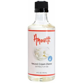 Amoretti Natural Cream Cheese Extract, 4 Ounce