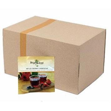 Wild Berry Hibiscus Herbal Tea, Mighty Leaf Tea (100 Tea Pouches)
