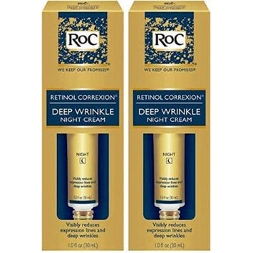 ROC Deep Wrinkle Night Cream Double Pack - New Larger Size 10% MORE!!