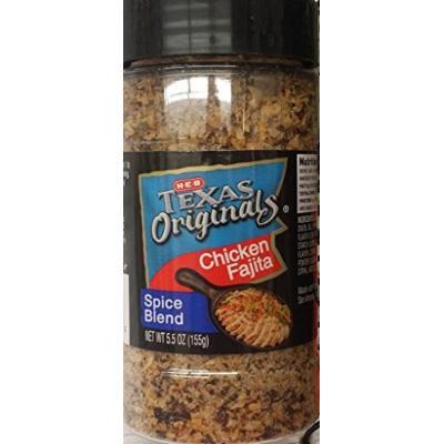 HEB Texas Originals Chicken Fajita Spice Blend 5.5 Oz (Pack of 3)