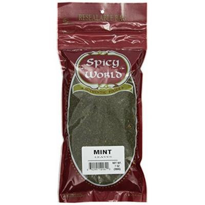 Spicy World Crushed Mint Leaves, 7 Ounce